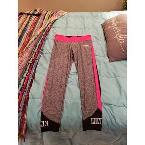 PINK workout leggings